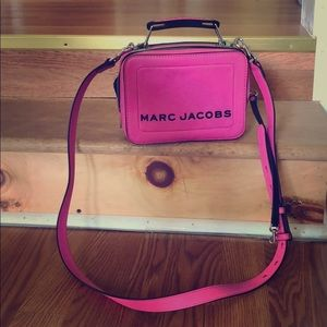 Hot Pink Marc Jacobs Lunchbox Bag